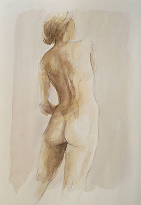 model watercolor